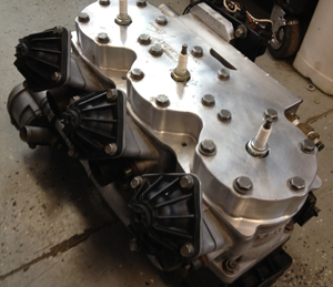 polaris snowmobile engine